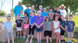 Provided to the Fernley Reporter Two groups of young golfers recently finished the first session of the Golf Club at Fernely's Junior Golf Clinic.