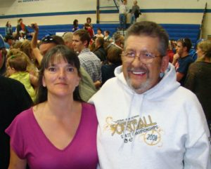 From Leslie Diffin Dad and I at Seth's Graduation