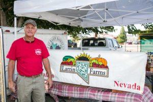 Ron Peterson represents Lattin Farms