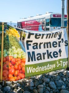 Joseph Maino, The Fernley Reporter Fernley Farmers market hosted a blood drive last Wednesday. The United Blood Services bloodmobile will return to the Farmers Market on Wednesday, Aug. 3.