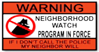 Neighborhood Watch and Safety Meeting Aug. 24