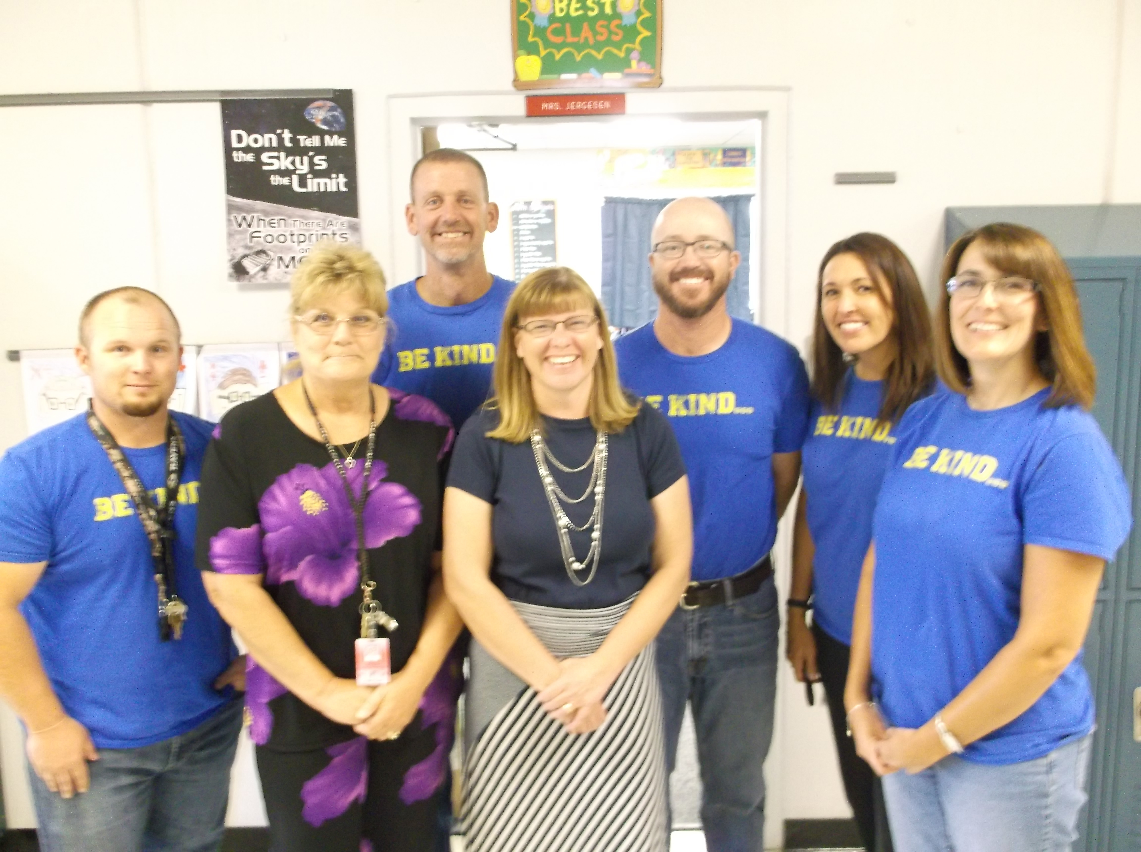 Photo courtesy Fernley Intermediate School Fernley Intermediate School 6th grade teacher Arvella Jargesen is pictured with her Math/Science team. Pictured are from left to right: Scott Gillespie, Lila Wilkins, Dave Burns, Arvella Jergesen, Jessie Weller Stephanie Lotito and Kelly Ward.