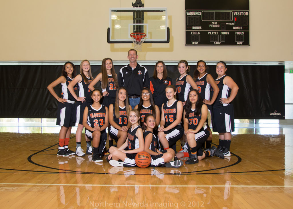 Photo courtesy Silverland Middle School Members of the Silveland Middle School 8th grade girls basketball team are (from left to right, back row) Jayla Tolliver, Aschlyn Roemer, Karli Burns, coach Dave Burns, coach Marlo Burns, Jordyn Martin, Shae Nunez, Adrianna Geurts, (second row) Haley LeBlanc, Lexi Young, Marissa Gonzalez, Chloe Cross, Aliyah Birchim, (sitting) Laney Miller and Shona Garman.