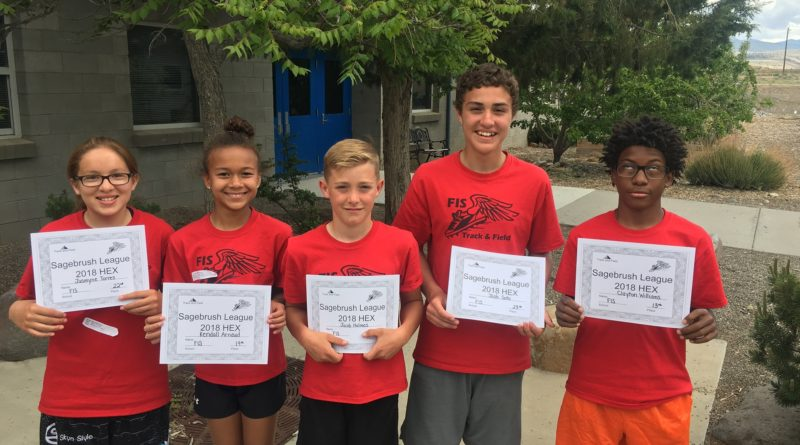 FIS 6th grade track teams win Sagebrush League