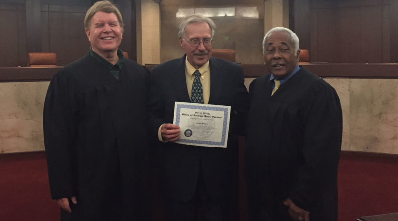 Blake recognized for service to Nevada Judiciary