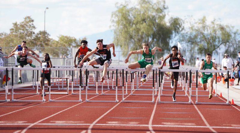 Bernardo's hurdles title highlights State meet for Fernley track team