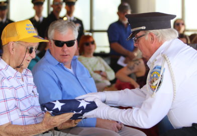 Long-forgotten veterans receive military service