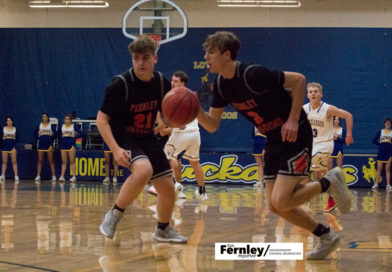Photos: Fernley boysbasketball at Lowry, Dec. 10
