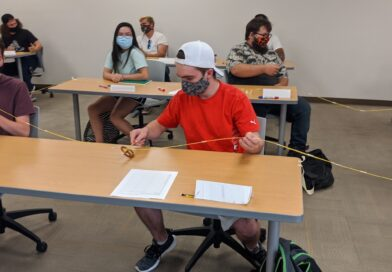 WNC engineering students adapt to COVID restrictions through creative exercise