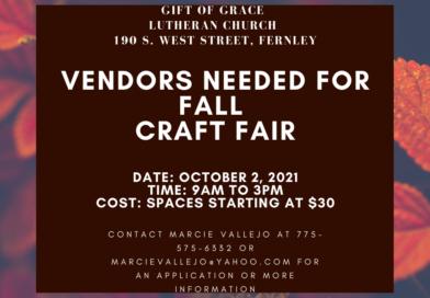 Gift of Grace seeking vendors for Fall Craft Fair