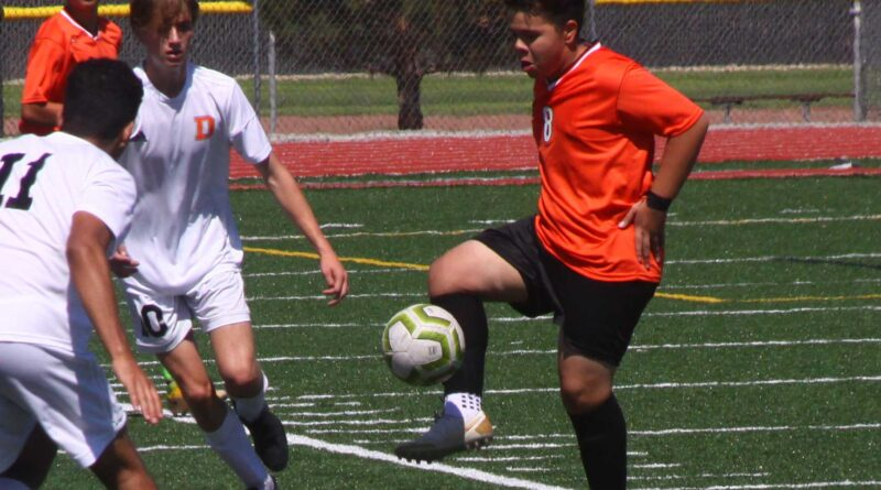 Fernley boys soccer gets tie in first home game